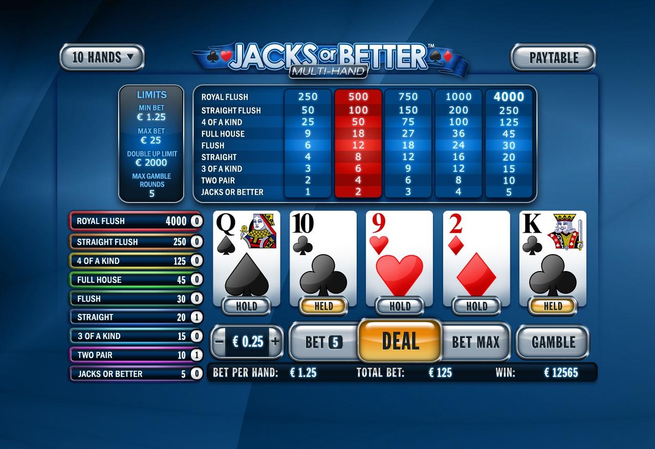 dafabet jacks or better